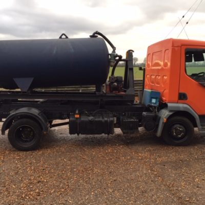 Leyland DAF. 7.5 ton tipper - Roll on off  tanker and 4 other multi use backs Vacuum tanker MEC 400P