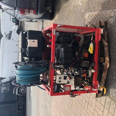 Van pack jetting unit for sale from Jetchem