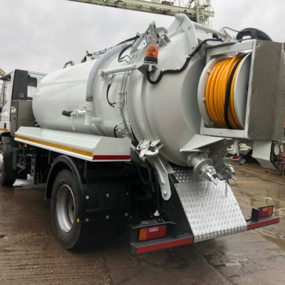 Iveco Eurocargo 2000 psi @ 50 gpm tanker for sale