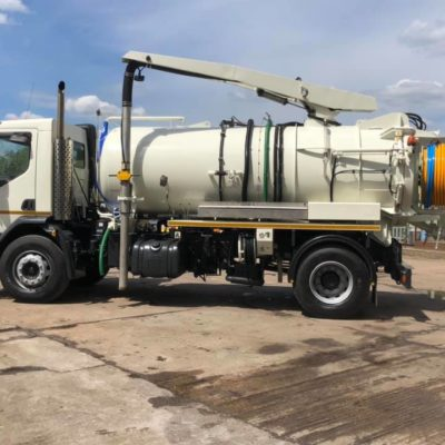 DAF LF220 2000 @ 50 jetting lorry