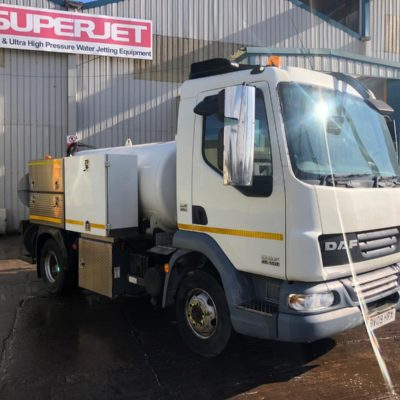 DAF 7.5t 800 gallon pure jetter 2000 @ 28 performance