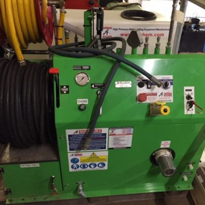 SOLD SOLD SOLD Jetchem 3000 psi @ 8 gpm petrol jetter