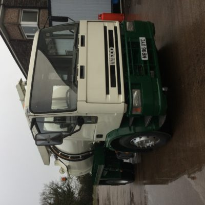 Ford iveco jetting tanker