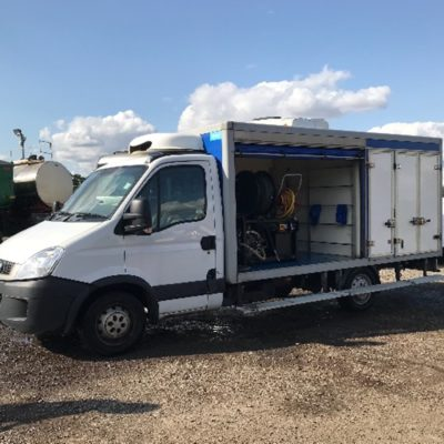 Iveco Daily with harben 4000 psi @ 12 gpm jetter