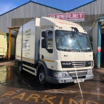 DAF lorry with 3600 @ 14 jetting and 2000 litre 50/50