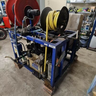 Jetchem Super Jet Drain Jetter Drainage Jetting Unit Van Pack 2900PSI